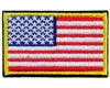 Warrior Morale Patch w/ Velcro - US Flag - Red/White/Blue