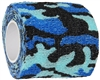Warrior Paintball Cloth Grip Tape - Blue Camo