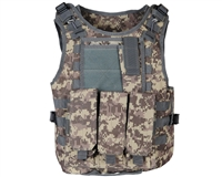 Warrior Molle Tactical Vest w/ Attachments - ACU