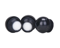 WDP Angel LED/LCD/IR3 Anti Double Ball 3 Pack Detents - Black
