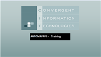 AUTOMAPPPS Software Training