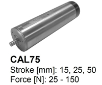 SMAC Electric Cylinders : CAL75-025-75
