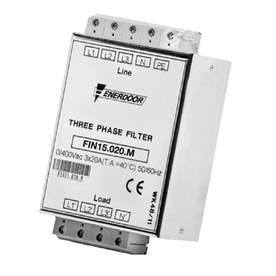 Enerdoor Three Phase Emi Filter Fin15 Series