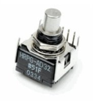 Avago: Miniature Panel-Mount Housed Encoders (HRPG Series)
