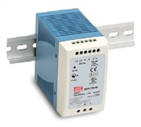 Mean Well: DIN Rail Power Supply (MDR-100)
