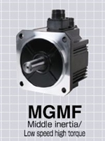 Panasonic: AC Servo Motors (MGMF A6 Series) -- Middle Inertia, 0.85kW to 4.4kW