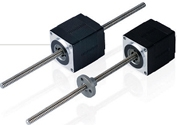 JVL: Integrated Stepper Motor with Linear Actuator (MSL Series)