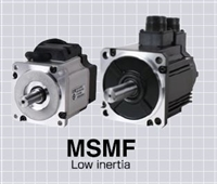 Panasonic: AC Servo Motors (MSMF A6 Series) -- Low Inertia, 50W to 5.0kW