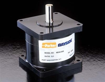 Parker bayside spur gearhead ne34 010 series for Parker bayside frameless torque motors