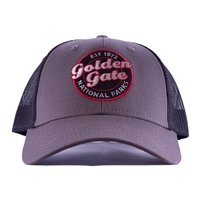 Cap Golden Gate Mesh Grey