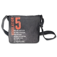 Messenger Bag - Alcatraz Regulation 5