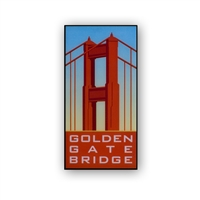 Pin - Golden Gate Bridge Vintage