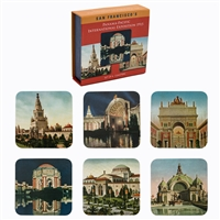 Coaster Set - Pan Pacific International Exposition