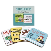 Coaster Set - Sutro Baths