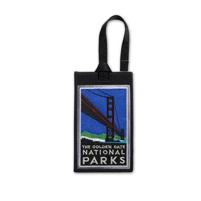 Luggage Tag - Golden Gate Bridge