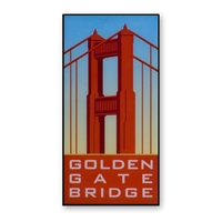 Magnet - Golden Gate Bridge Vintage