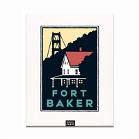 Unframed Poster - Fort Baker