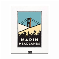 Unframed Poster - Marin Headlands