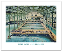 Unframed Poster - Sutro Baths Interior