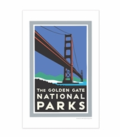 11x17 Print - Golden Gate Bridge