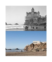 Lenticular Postcard Cliff House
