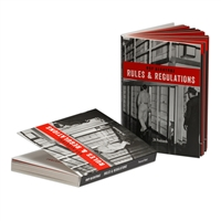 Postcard Book - Alcatraz Rules & Regulations