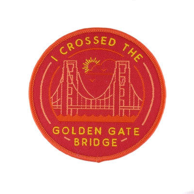 Adventure Badge - I Crossed the Golden Gate Bridge