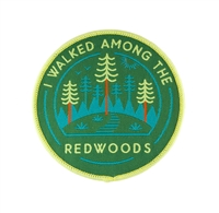 Adventure Badge - I Walked Among the Redwoods