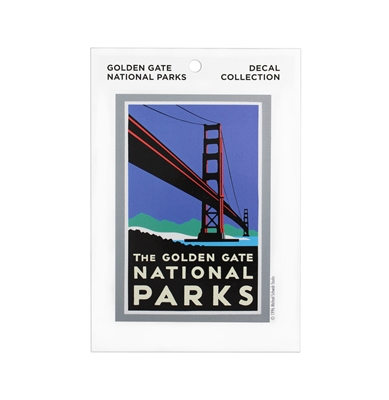 Decal - Golden Gate National Parks