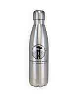 Stainless Steel Bottle - Airplane over the Golden Gate