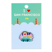 Pin - Groovy San Francisco