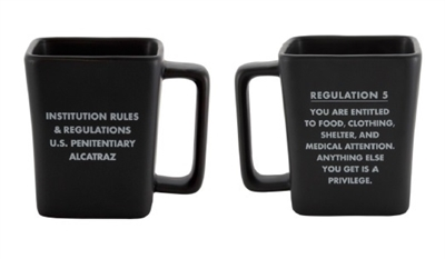 Alcatraz Regulation 5 Mug