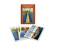 Notecard Folio - Golden Gate Bridge Vintage Images