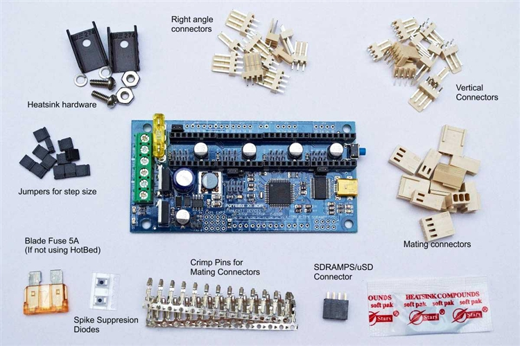 AX13DP 3?1334271532 azteeg x1 3d printer controller v2 0 rohs  at n-0.co