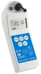 D-6BD - Dialysate Meter - Conductivity,Resistivity,TDS,pH,ORP,Temp W/ BluDock