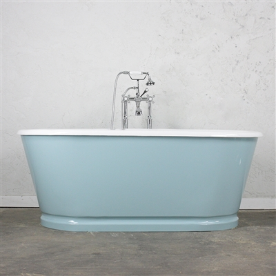 "<br>'The Chetwold66' 66"" Cast Iron Double Ended Tub with Drain<BR>"