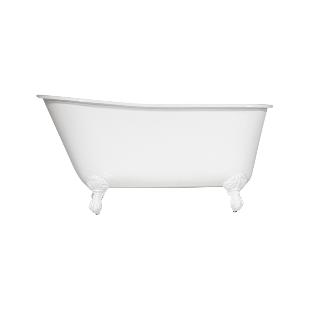 The Elstow\' 57 Vintage Designer Cast Iron Clawfoot Bateau Bathtubs ...