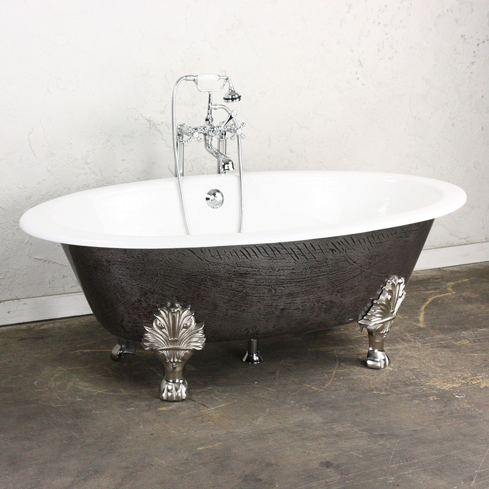 100 bathroom 71 inch bell brook cast iron clawfoot tub with