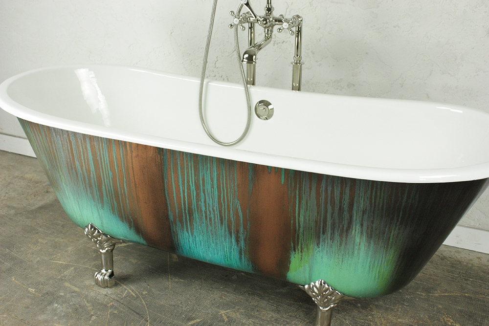 tubs ft left reviews drain soaking bathtub archer bellwether bathtubs tub villager cast iron kohler hand expanse