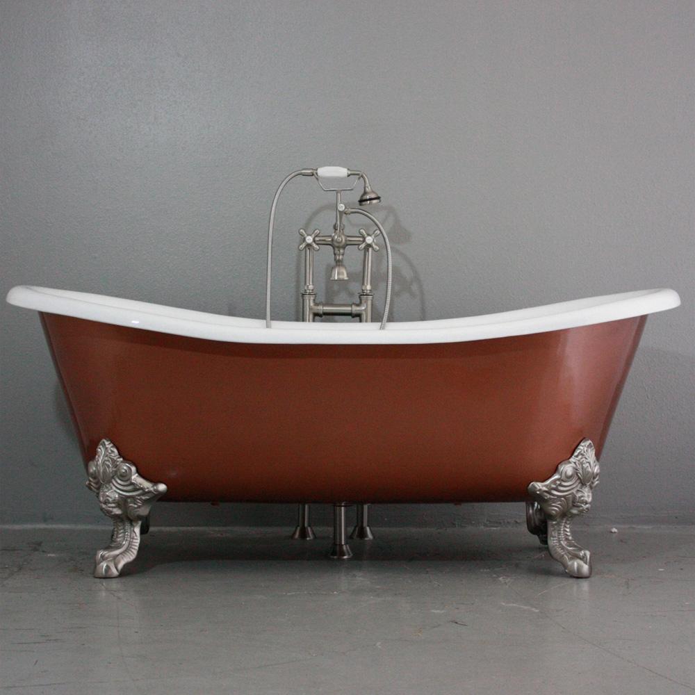 French Bateau Clawfoot Tub