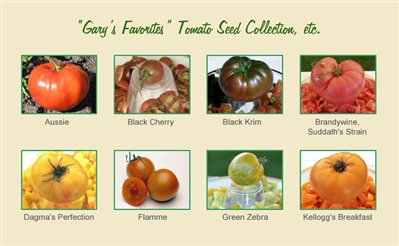 Gary's Favorites Tomato Seed Collection