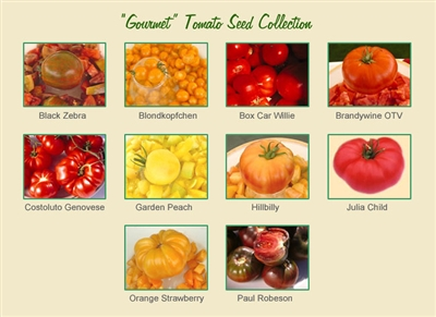 Gourmet Tomato Seed Collection