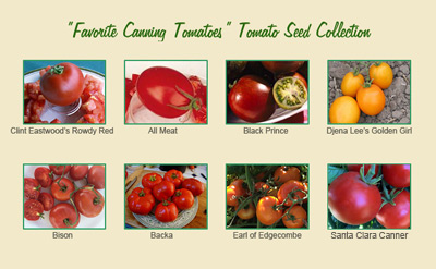 Favorite Canning Tomatoes Collection