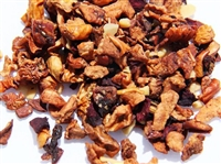 Almond Apple Crisp herbal fruit tisane blend caffeine-free