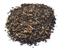 Black cherry flavored black loose-leaf tea