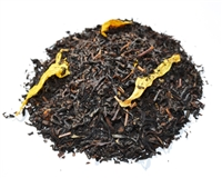 Apricot flavored black loose leaf tea