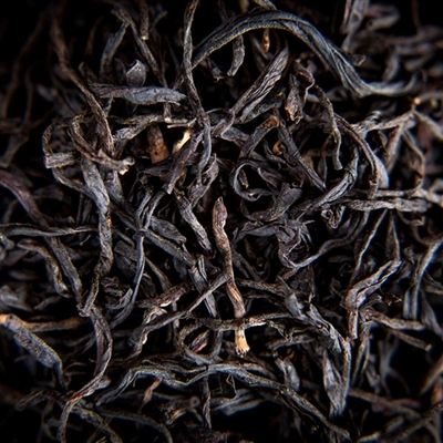 Black tea grown at 6,000 feet in the 