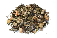 Divine Temple is a complex blend of fruits, white and green tea