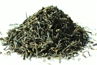 Green tea flavored with jasmine petals
