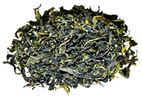 Pouchong is from Taiwan and is a lightly oxidized greenish Oolong.